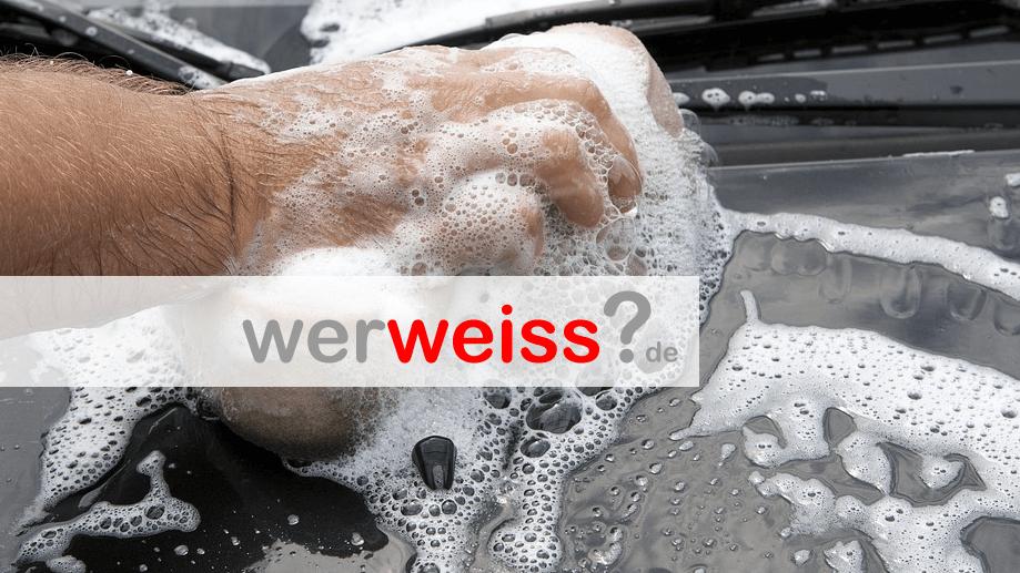 Im Winter das Auto waschen?