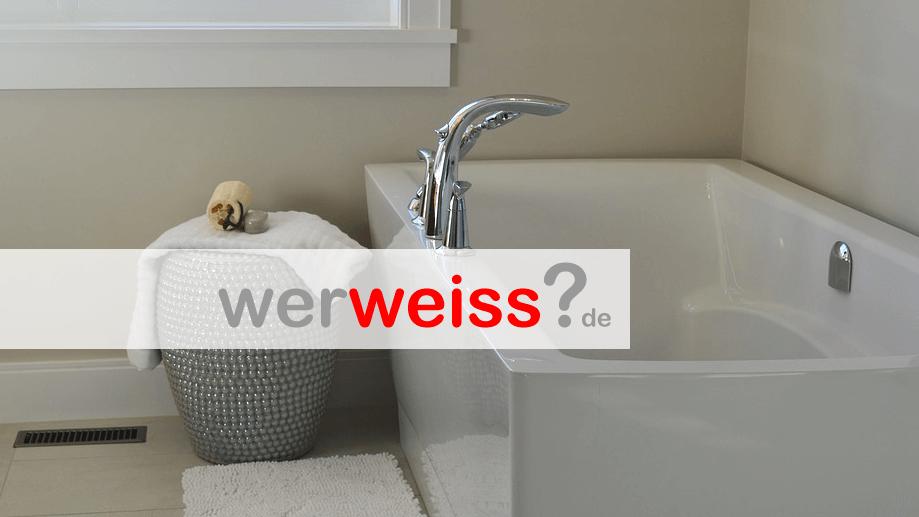 Ist Baden oder Duschen günstiger?
