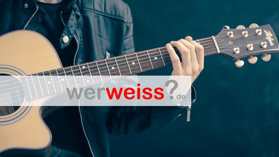 Ist Gitarre Lernen Schwer
