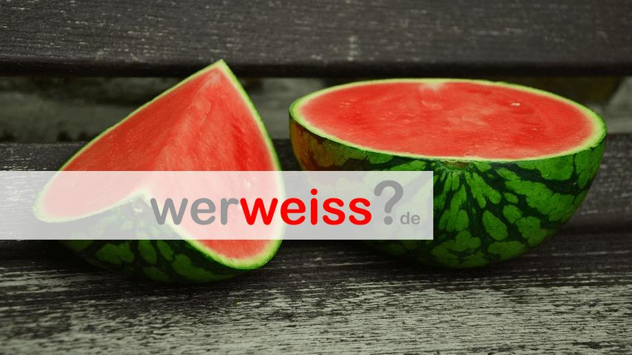 Wie Lange Hält Eine Wassermelone